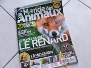 """Vll) Revue """"Le Monde des animaux"""""""